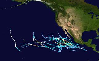 1985 Pacific hurricane season hurricane season in the Pacific Ocean