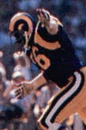 Cody Jones - Jones playing for the Rams in 1980