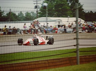 1990 Indianapolis 500 - Eddie Cheever won the rookie of the year award.