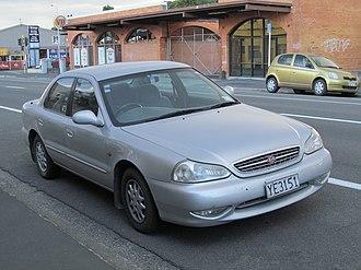 Kia Credos - 1999 Kia Credos (New Zealand)