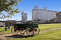 19th Century Wagon, Grain Elevator, Dodge City.jpg