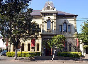 Waterloo Town Hall - Image: 1 Former Waterloo Town Hall