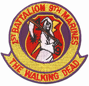 1st Battalion, 9th Marines - Vietnam-era battalion insignia