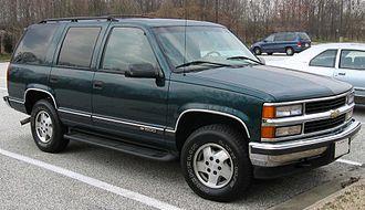 Chevrolet Tahoe - Chevrolet Tahoe LT 4-door
