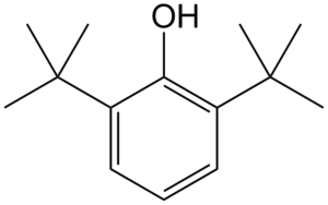 2,6-Di-tert-butylphenol - Image: 2,6 di tert butylfenol