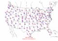2002-09-01 Max-min Temperature Map NOAA.png