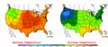 2002-09-08 Color Max-min Temperature Map NOAA.png