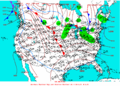 2003-01-19 Surface Weather Map NOAA.png