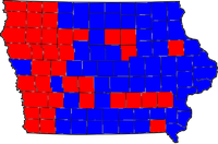 2006 Iowa governor election results.png