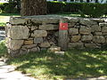 2007 Falmouth stone wall Massachusetts 910812670.jpg