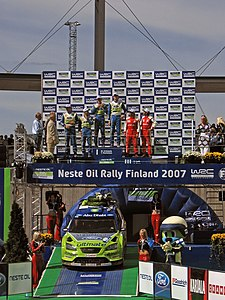 2007 Rally Finland podium 11.JPG