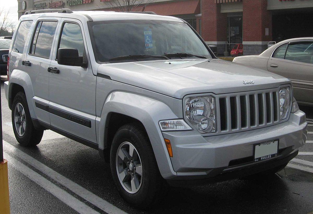 Jeep Liberty 2008 Silver