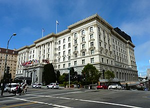 Fairmont Hotels and Resorts - Image: 2009 0722 Fairmont SF