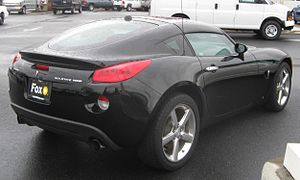 Pontiac Solstice - 2009 Pontiac Solstice GXP coupe