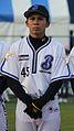20111123 Hiroyuki Hukuyama, pitcher of the Yokohama BayStars, at Yokohama Stadium.jpg