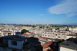 Diez de Octubre - Diez de Octubre, seen from a window  of the Hospital of Luyanó
