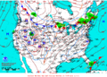 2013-01-19 Surface Weather Map NOAA.png