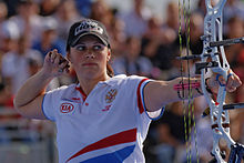 2013 FITA Archery World Cup - Women's individual compound - 3rd place - 05.jpg