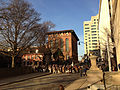 2014-12-27 15 32 43 Reenactors assembling in front of the Old Barracks after a reenactment of the Second Battle of Trenton in Trenton, New Jersey.JPG