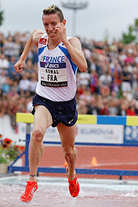 2014 DécaNation - 3000 m steeplechase 04.jpg