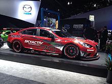 Mazda6 SkyActiv D Race Car