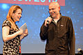 2015-11-19 13th International up-and-coming Film Festival in Hannover (2261) Anna de Paoli und Harald Inhülsen.JPG