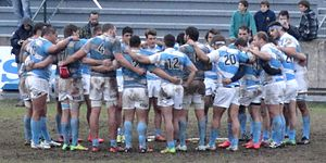 Argentina XV national rugby union team - Argentina XV at a 2015 test match versus Uruguay's Teros