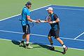 2015 US Open Tennis - Tournament - Colin Fleming (GBR) Treat Huey (PHI) def. Sam Groth (AUS) Lleyton Hewitt (AUS) (21006106948).jpg