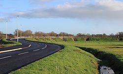 2015 at Cranbrook station - approach road.JPG