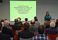 2016-04-12 Gottfried Wilhelm Leibniz Bibliothek - Niedersächsische Landesbibliothek, Dr. Regina Stuber zu Bibliotheksdirektor Johann Heinrich Jung.jpg
