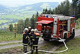 2016-10-08 (02) Cross-district firefighters exercise at Schwabeck, Frankenfels.jpg