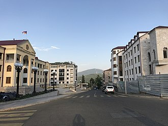 Republic of Artsakh - The government building