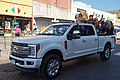 2017 Bois d'Arc Bash parade 08 (Lucky and A&M–Commerce Lions cheerleaders).jpg