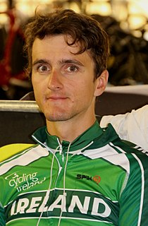 Marc Potts Irish male track cyclist
