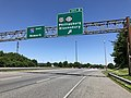 2018-06-29 13 31 20 View east along Interstate 78 (Phillipsburg-Newark Expressway) at Exit 3 (U.S. Route 22, New Jersey State Route 122, Phillipsburg, Bloomsbury) in Pohatcong Township, Warren County, New Jersey.jpg