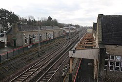 2018 at Carnforth station - disused platforms.JPG