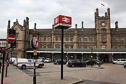 2018 at Shrewsbury station - frontage.JPG