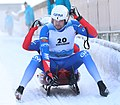 2019-01-25 Doubles Sprint Qualification at FIL World Luge Championships 2019 by Sandro Halank–222.jpg