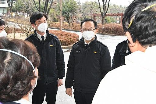 2020소방청장 정문호 신종 코로나바이러스 관련 소방기관 대응상황 현장점검사진 (3)