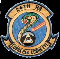 24th Strategic Reconnaissance Squadron - Emblem