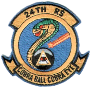 24th Expeditionary Reconnaissance Squadron - Emblem of the 24th Reconnaissance Squadron