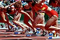 261000 - Athletics track Amy Winters action -3b - 2000 Sydney race photo.jpg
