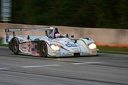 Audi en Le Mans 2004, conducido por Johnny Herbert