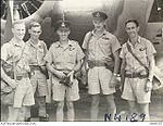 2 Squadron RAAF Hudson aircrew Hughes NT Mar 1943 AWM NWA0187.jpg