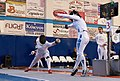 2nd Leonidas Pirgos Fencing Tournament. Counter-attack and touch for Nikoletta Chatzisarantou.jpg