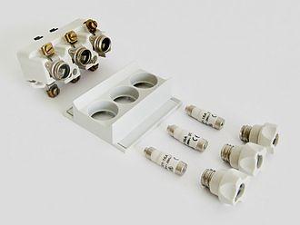 IEC 60269 - Neozed Fuse block for 3-phase AC