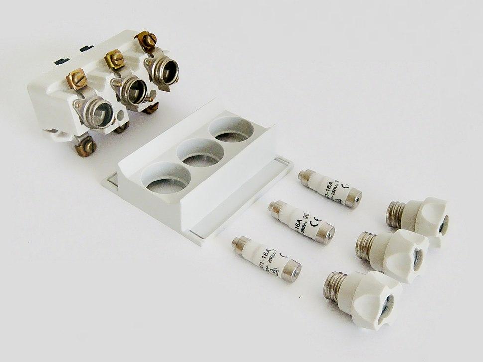 3-poliges Sicherungselement, Einzelteile-2