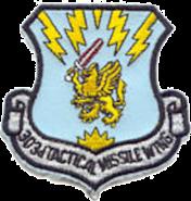 303d Tactical Missile Wing - Emblem