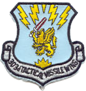303d Aeronautical Systems Wing - 303d Tactical Missile Wing Emblem