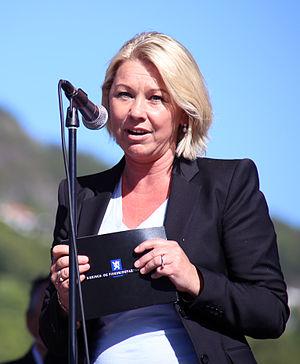 Monica Mæland - Image: 31.05.2014,Monica Mæland